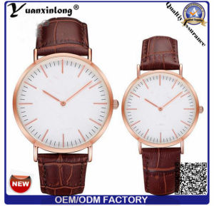 Yxl-826 High Quality Italy Crocodile Pattern Leather Custom Corniche Brand Watch for Men pictures & photos