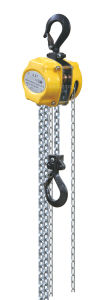 5000kg Overload Limit Chain Pulley Blocks pictures & photos