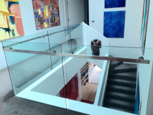 Stainless Steel Glass Railing for Stairs pictures & photos