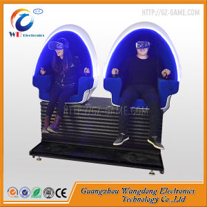 2 Players Egg Seats Touch Screen 9d Vr Cinema with 9d Headset pictures & photos