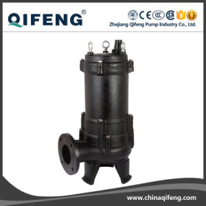 10HP Non-Clog Centrifugal Submersible Sewage Pump (CE Approved) pictures & photos