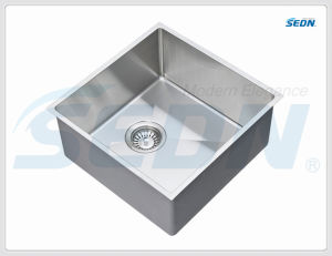 Handmade Single Bowl Stainless Steel Sink for Kitchen (SB1064A) pictures & photos