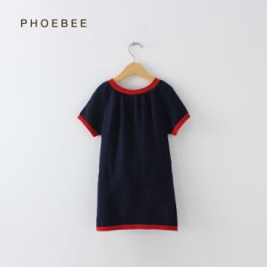 Phoebee Knitted Cotton Kids Wear Children Dress Online pictures & photos