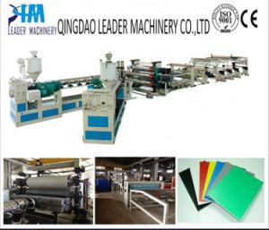 PP/PE/PS/PVC Plastic Sheet Production Line pictures & photos