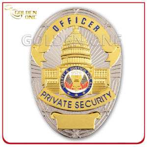 Custom Dual Plated Military Badge for U. S Government pictures & photos