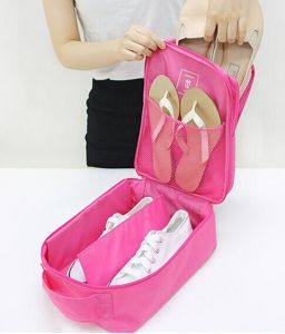 Nylon Easy Collection Traveling Tote Shoes Bag (MS9054) pictures & photos