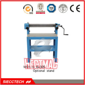 Siecc Manual Hand Steel Plate Slip Roll Machine W01-0.8X305 Series pictures & photos