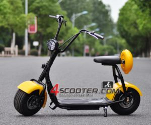Chain Drive 2 Wheel Electric Scooter Citycoco pictures & photos