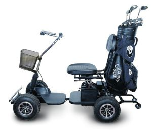 Single Seat 450W Electric Golf Cart pictures & photos