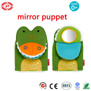 Crocodile Fabric Hand Mirror Puppet Gift Baby Funny Toy pictures & photos