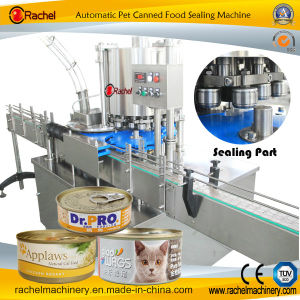 Automatic Dog Food Can Sealing Equipment pictures & photos