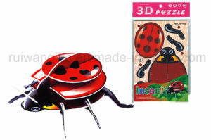 Promotional 3D Jigsaw Puzzle for Kids Paper Puzzle Educational Toy pictures & photos