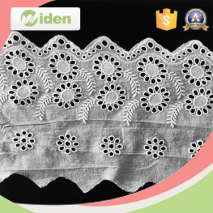 Hot Selling Cotton Lace Handkerchiefs Wholesale Floral Embroidery Lace pictures & photos