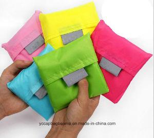 Custom Reusable Nylon Foldable Shopping Bag pictures & photos