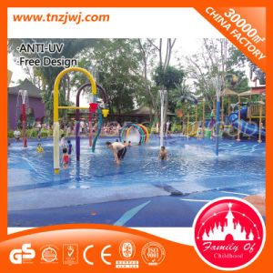 Kids Outdoor Play Items Water Park Equipment with Tube Slide pictures & photos