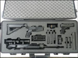 Custom Foam Packing for Guns