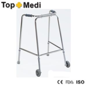 Medical Qeuipment Walking Aid for Neurological Disturbance Suffers Rollator pictures & photos