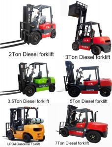 Hot Sale Diesel Forklift in Europe Market pictures & photos