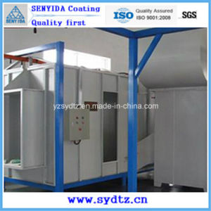 Hot Powder Coating Machine/Line/Equipment Powder Spray Booth pictures & photos