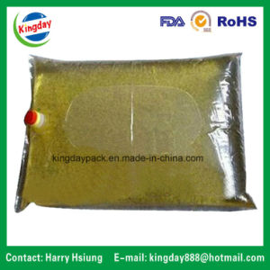 Clear Bag with Cap Filling Edible Oil