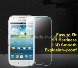 2.5D Cured Cell Phone Tempered Glass Screen Protector 9h Anti Shatte Hot Sale for Samsung Galaxy S7562 pictures & photos