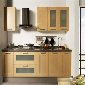 New Models Solid Oak Wood Kitchen Cabinet