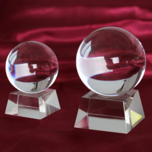 Small 60mm Crystal Glass Ball for Office Decoration (ks201401) pictures & photos