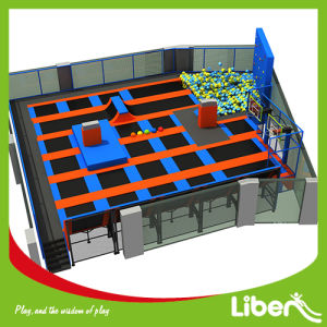 Best Indoor Trampoline for Kids with Climbing Wall pictures & photos