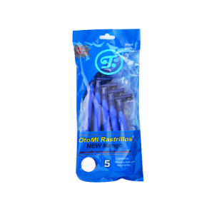 Triple Blade Disposable Shaving Razor with 5PCS Per Bag for Hotel/Shop/Supermarket pictures & photos