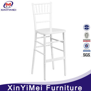 Aluminum Stackable White Bar Stool Chiavari Chair pictures & photos
