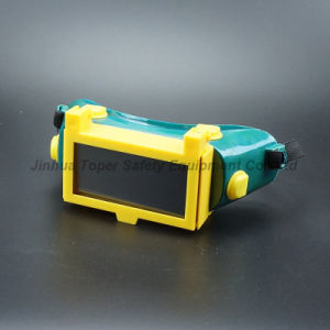 Welding Goggle with Black Lens 108X50mm Welding Glass (WG115) pictures & photos
