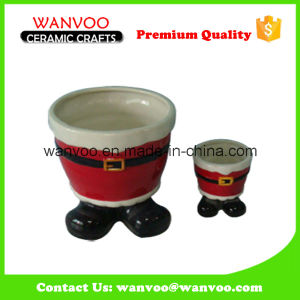Porcelain Oil & Vinegar Bottle for X′mas Gift pictures & photos