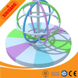 Child Indoor Soft Playground Equipment Electric Rotating Globe pictures & photos