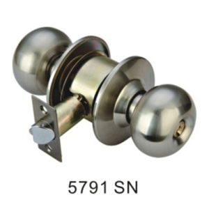 Best Selling Cylindrical Knob Lock Round Door Lock (5791 SN) pictures & photos