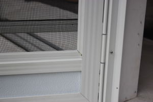Easy Install Full View Storm and Screen Door pictures & photos
