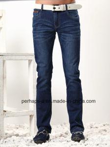 New Design Mens Indigo Jeans pictures & photos