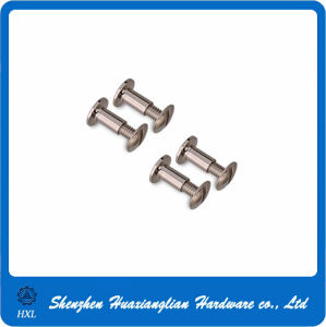 Slotted Round Head Double Side Rivet for Handbags pictures & photos