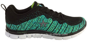 Ladies Women Flyknit Footwear Gym Sports Shoes (W-16766) pictures & photos