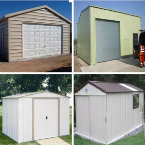 Steel Garden Shed/Poultry Shed/Prefab Steel Shed (DG6-020) pictures & photos