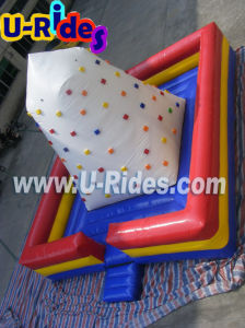 Square Mat Inflatable Climbing wall air rock mountain inflatable climbing for Carnival pictures & photos