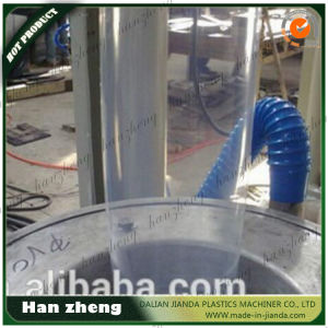 Sjm-55-2-1400 High Output ABA HDPE Semi-Auto Roller Plastic Blown Film Line pictures & photos