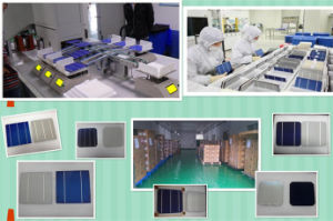 Cheap Price High Efficiency 4 Watt to 4.38W Multi Polycrystalline Solar Cell Price for Solar Panels/PV Solar Cells for Sale pictures & photos