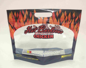 Microwave Hot Barbecue Chicken Bag with Window and Ziplock pictures & photos