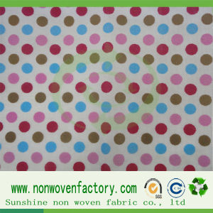 Fabric Spunbond PP Nonwoven Printed Fabric pictures & photos