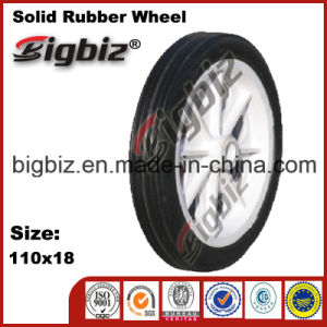 Jiaonan 10 Inch Solid Rubber Wheel 10X1.75 for Sale pictures & photos