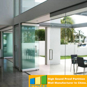 Operable Glass Aluminium Partition Walls for Upscale Shopping Mall