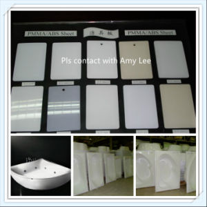 High Gloss Acrylic/ABS PMMA/ABS Sheet for Sanitary Bathtub with Anti-UV pictures & photos