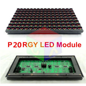 High Brightness P20 Outdoor Tri-Color LED Display Module for LED Display Unit Module pictures & photos