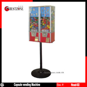 Two Vending Machines with One Stand pictures & photos