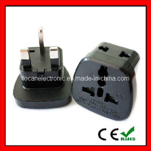 Universal 2 in 1 Plug Adapter with Safety Shutter for Hongkong, England, U. a. E., Singapore, Malaysia pictures & photos